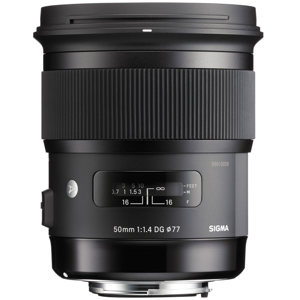Sigma 50mm f/1.4 DG HSM Art For Canon/Nikon