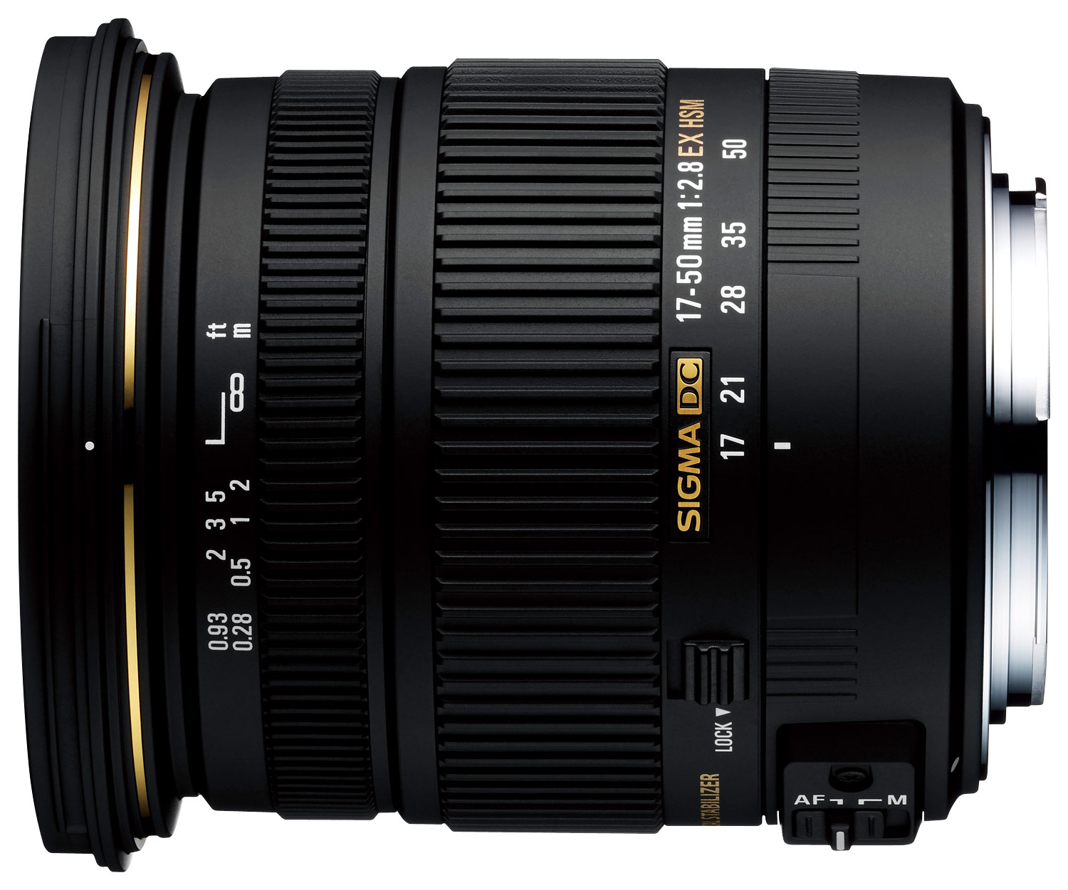 Sigma 17-50mm f/2.8 EX DC OS HSM for Canon/Nikon