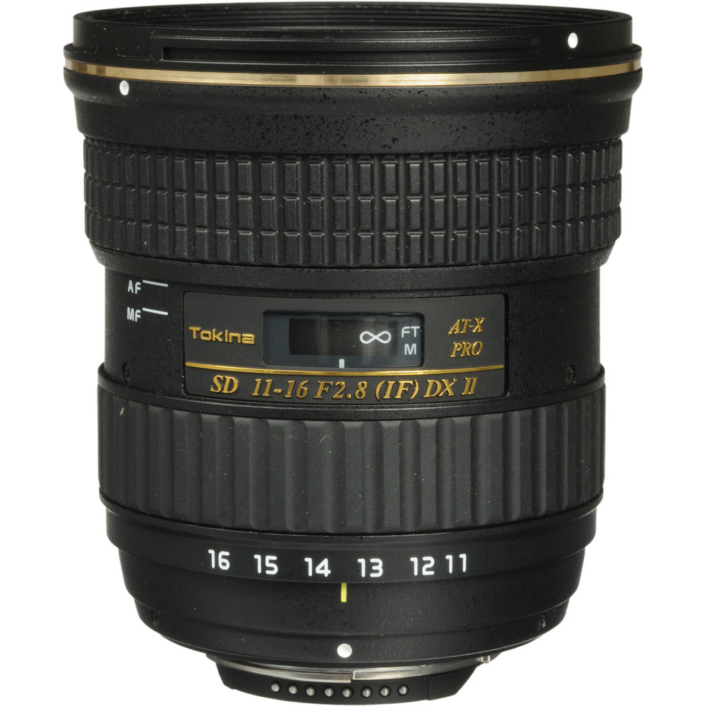 Lens Tokina AT-X 11-16mm F2.8 Pro DX II for Nikon/Canon (Chính hãng)