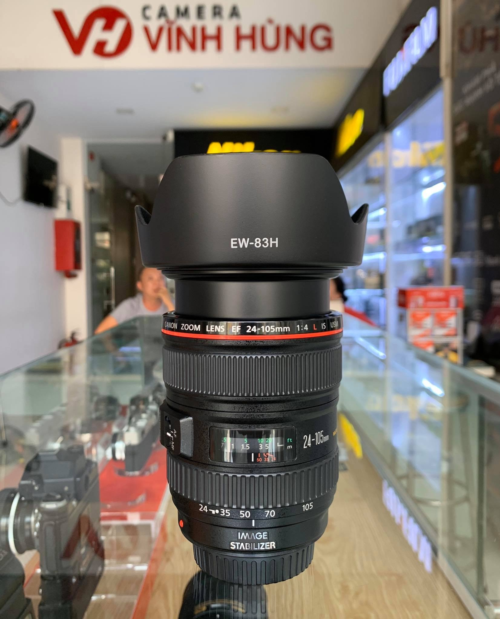 Canon 24-105mm f/4 L IS (Mới 97%) Code OD