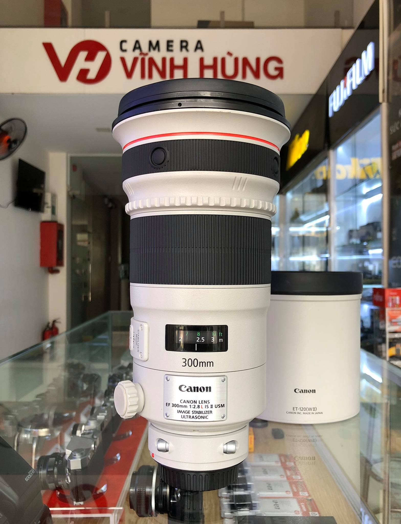 Canon 300mm f/2.8 L IS II (Mới 98%)